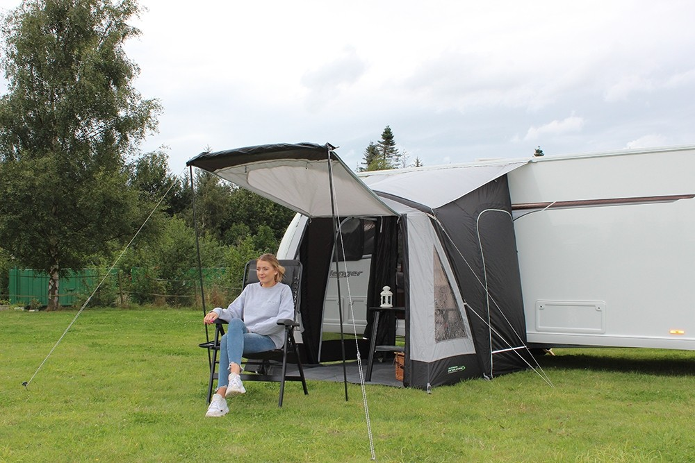 Porchlite 200 Air Lightweight Small Family Caravan Air Awning