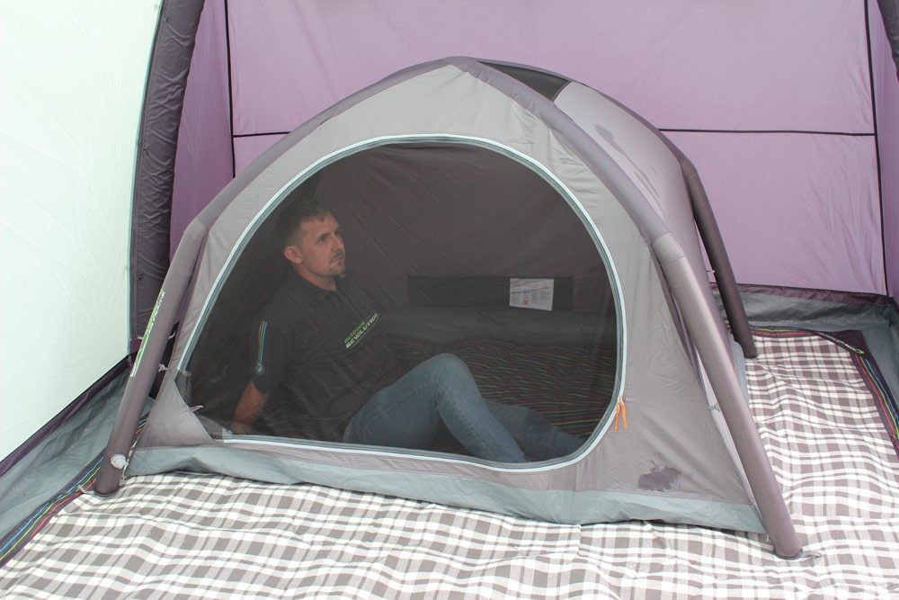 Standalone Air Pod Dark Two Berth Inflatable Pop Up