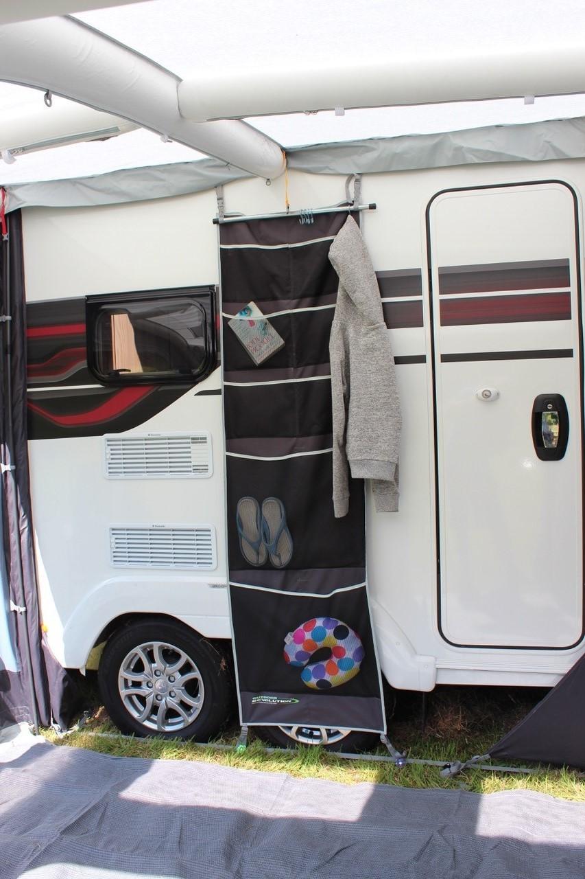 Caravan Awning Hanging Mesh Storage Organiser Pockets