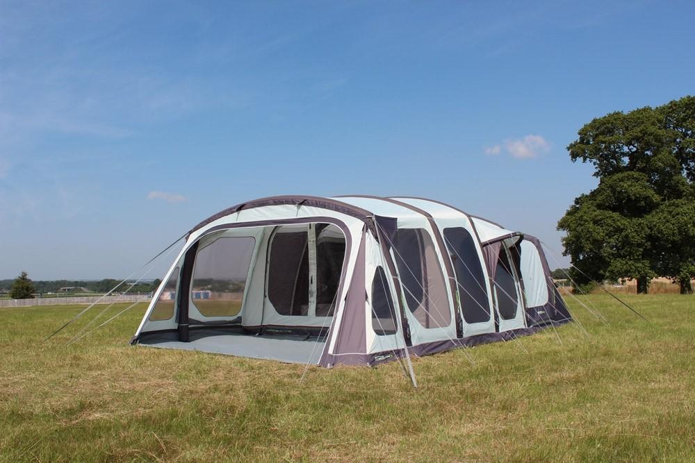 Ozone 6 0xtrv Premium Three Bedroom Air Framed Tunnel Tent