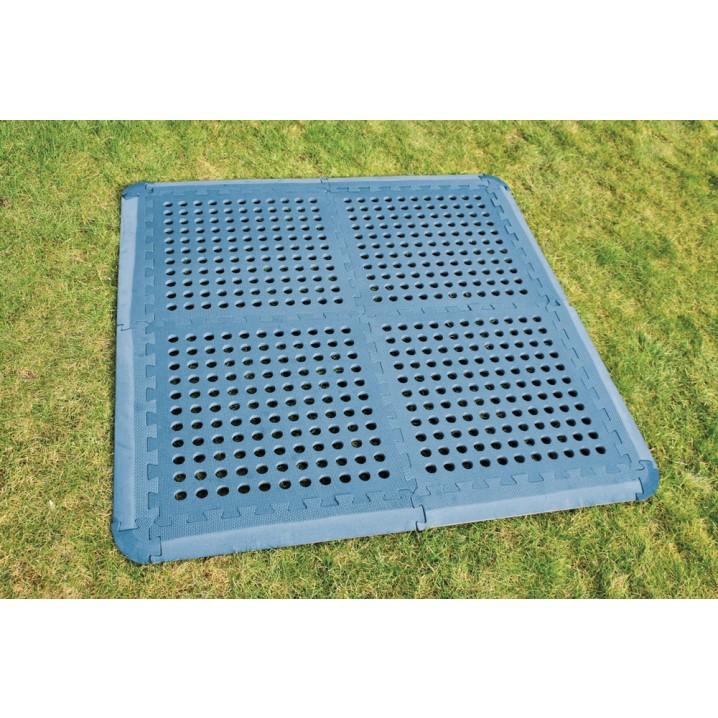 Blue Versa-Tile Flooring x 4