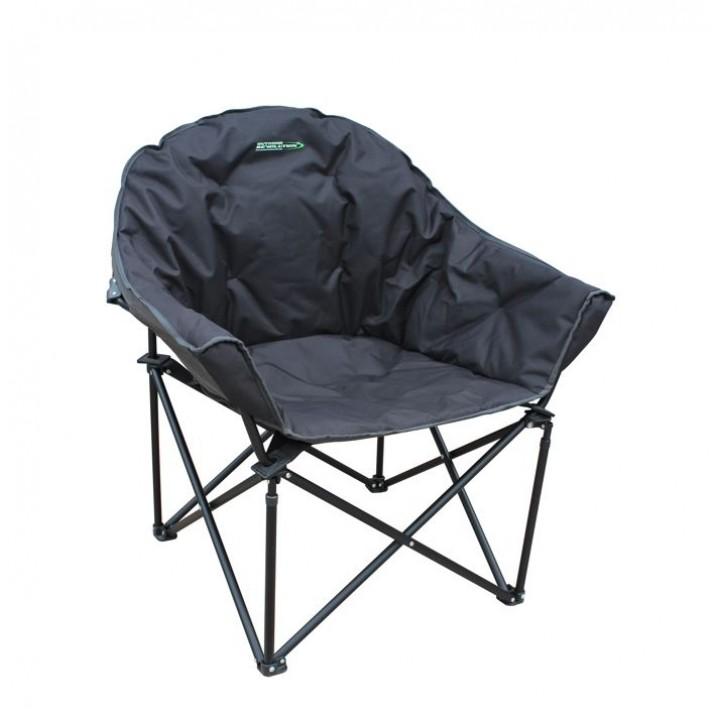 Tubbi XL Chair Grey and Black