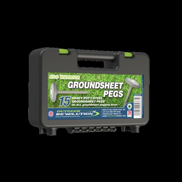 Eco Warrior Groundsheet Peg (Case of 15)
