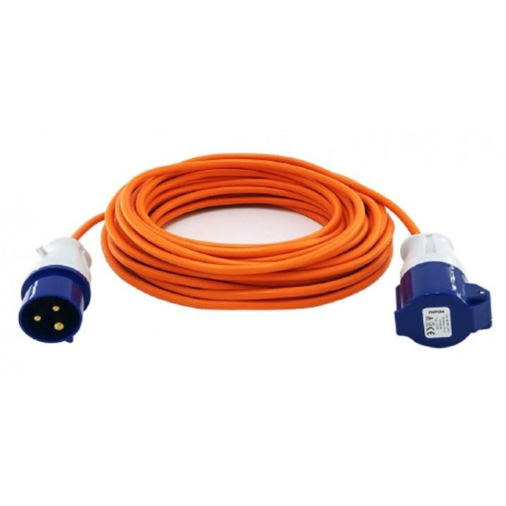 Caravan Mains Extension Cable 25m 2.5mm 16A