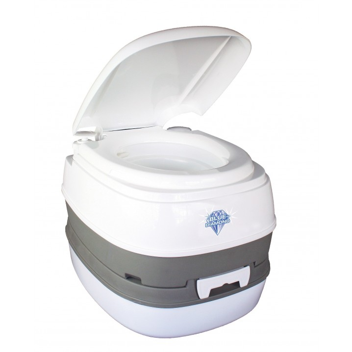 When Nature Calls Eco-Friendly Compact Manual Flushing Portable Camping Loo / Toilet / Potty – Hero Shot