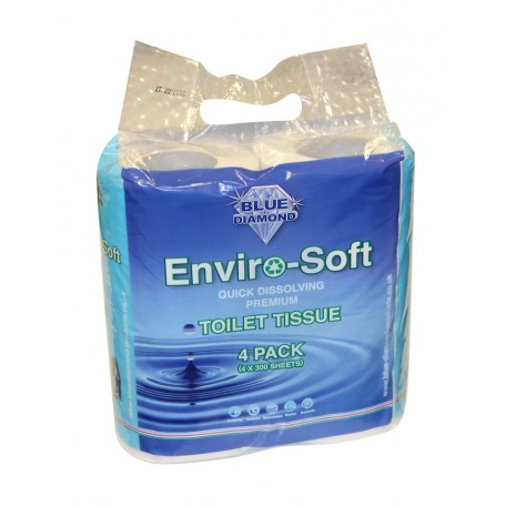 Enviro-Soft Premium Toilet Tissue 4 Pack