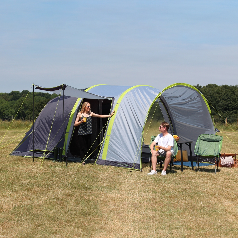 Camping Tent 4–Person Family Tunnel