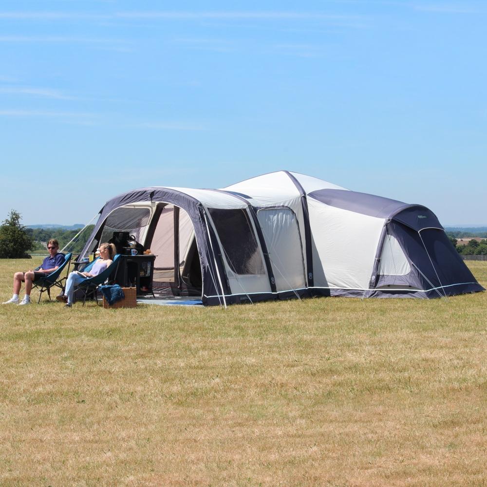 Airedale 12 0 Premium Twelve Berth Inflatable Family Pod Tent