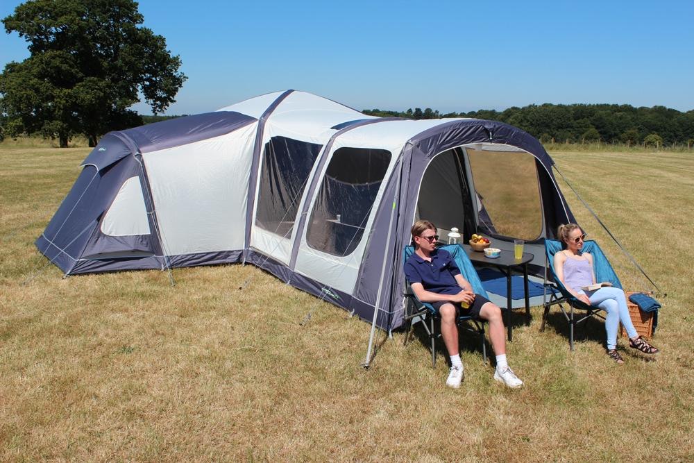 Airedale 12.0 Premium Twelve Berth Inflatable Family Pod Tent